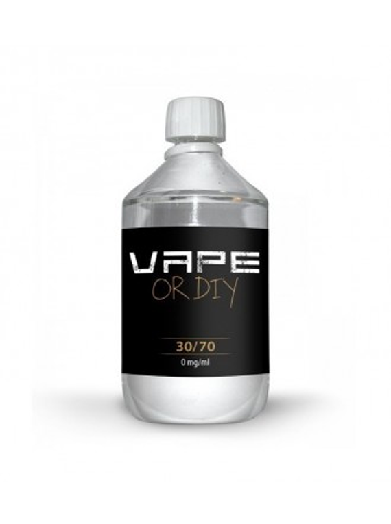 BASE VAPE OR DIY 1000ML 30%PG/70%VG 00mg - 50%PG/50%VG 00mg