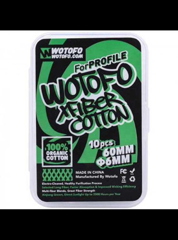 Wotofo - Xfiber Cotton for Profile X10 - 6mm & 3mm