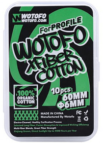 Wotofo - Xfiber Cotton for Profile X10 - 6mm & 3mm