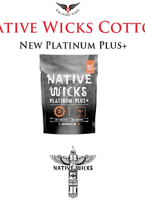 Native Wicks Platinum Plus + Algodão