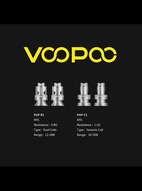 Resistencias Pod Voopoo Find S trio