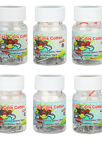 Lvs Easy Coils Cotton 20pcs