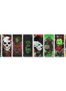 Wraps baterias 18650 - Zombie series