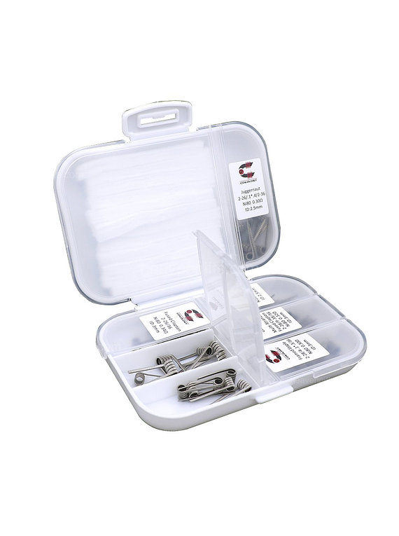 Coilology Performance NI80 Coil 7-in-1 42pcs / 7 in 1 Pack SS316 - Coilology