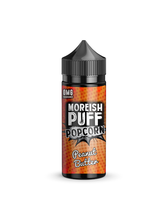 Eliquid Moreish Puff 100ml boosted