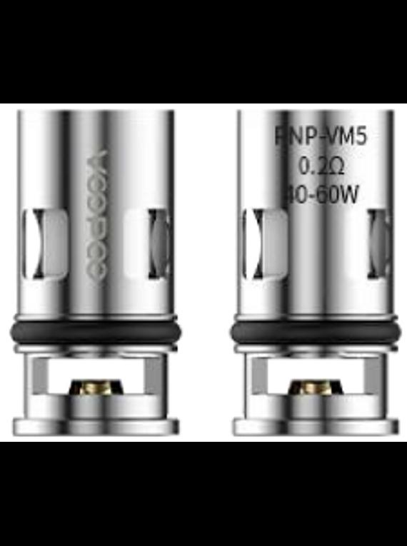 Resistencias PnP VM5/6  - Voopoo  - unidade