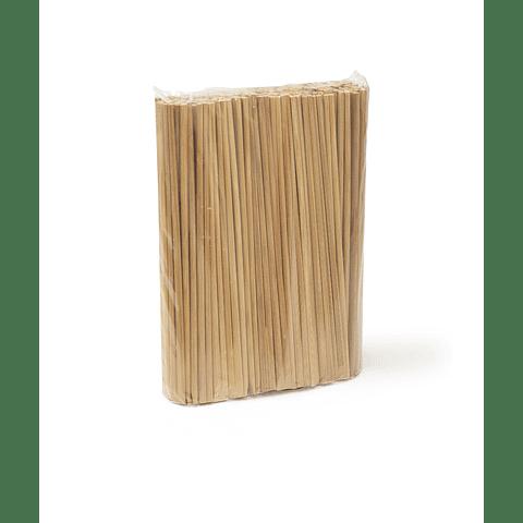 Palito Bamboo  Caoba 21 Cms