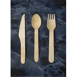 Cuchillo de Madera 14cms
