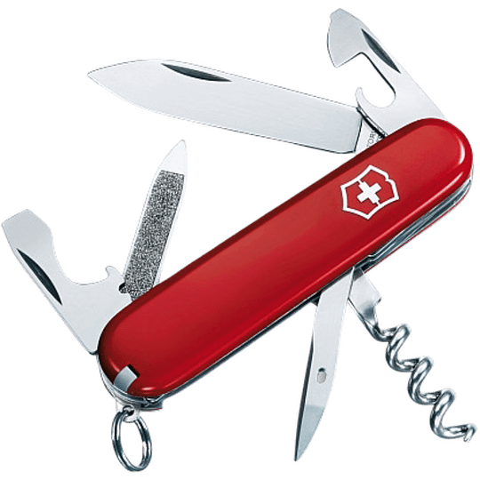 Navaja Suiza Sportsman color Rojo Victorinox