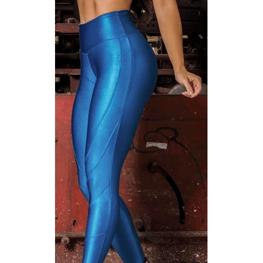 Moda Brasil Calza Brillante Azul - Image 1