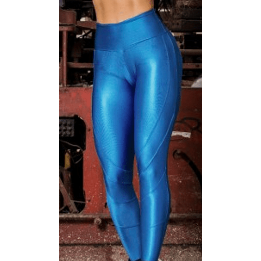 Moda Brasil Calza Brillante Azul - Image 3