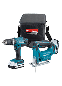 Kit Tico-Tico JV143D + Berbequim Makita HP347D