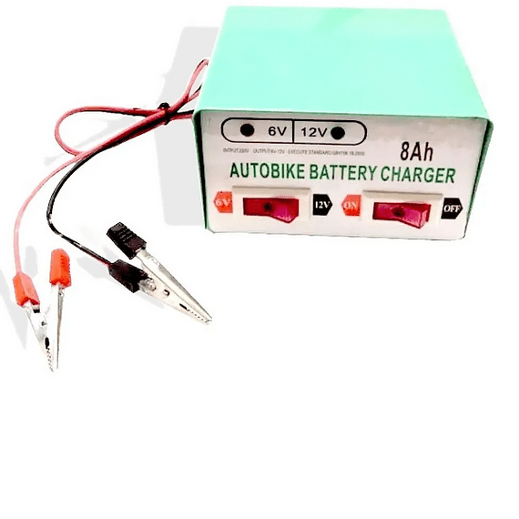 Cargador De Bateria 12v