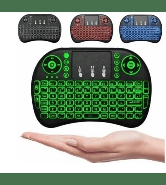 Mini Teclado Inalámbrico Touchpad Smartv Pc Tvbox