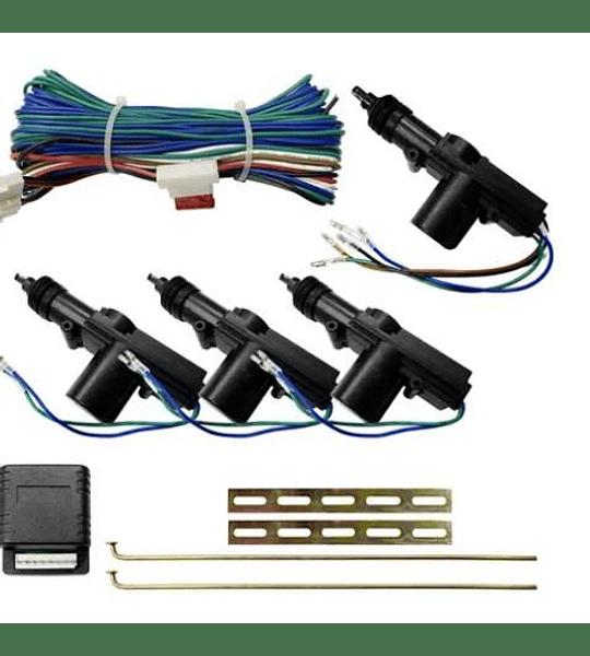 Kit Cierre Centralizado Para 4 Puertas389