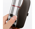 Caja de cuero juego de 7 piezas herramienta de belleza para manicura cortaúñas juego de cuchillos exquisitos Regalo de Promoción personalización