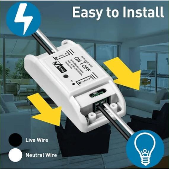 Interruptor Wifi Inteligente Para Google Home Y Alexa Amazon