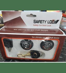 Set De 2 Chapas De Seguruidad Para Auto , Producto Universal565