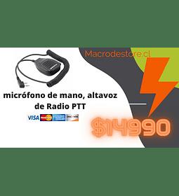 micrófono de mano, altavoz de Radio PTT