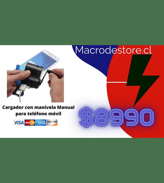 Cargador con manivela Manual para teléfono móvil