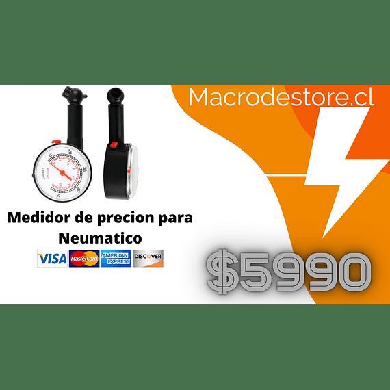 Medidor de presión de neumáticos