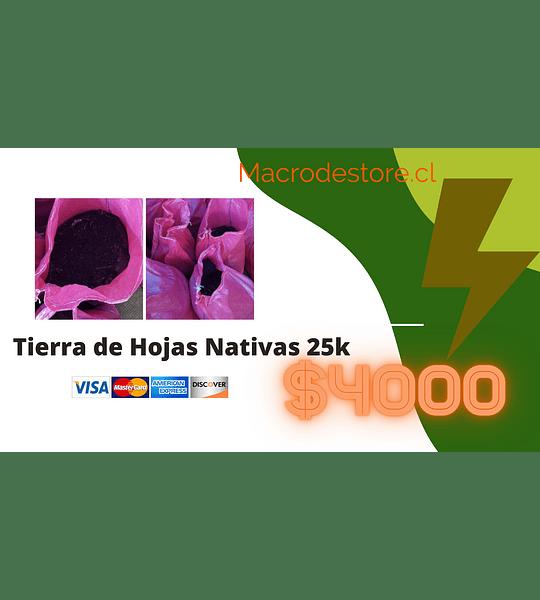Tierra de Hojas Nativas 25k