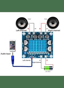 AMPLIFICADOR DE AUDIO TPA3110 XH-A23230W + 30W
