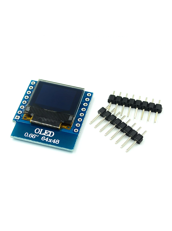 SHIELD LCD OLED 0.66 64X48 PULGADAS D1 MINI