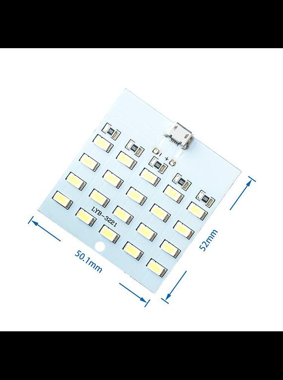 MATRIZ DE LED BLANCA 5X4 5730 5V