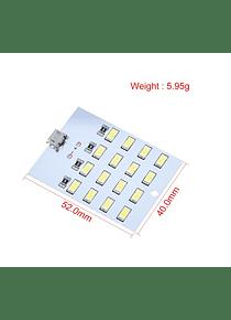 MATRIZ DE LED BLANCA 4X4 5730 5V