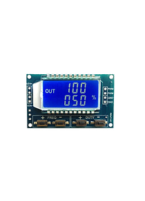 GENERADOR DE SEÑALES PWM 1HZ A 150KHZ CON LCD