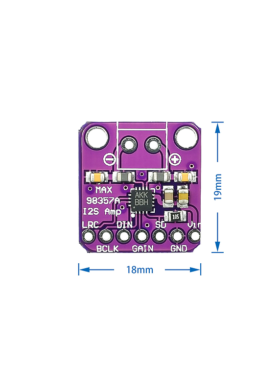 AMPLIFICADOR CLASE D PCM MAX98357