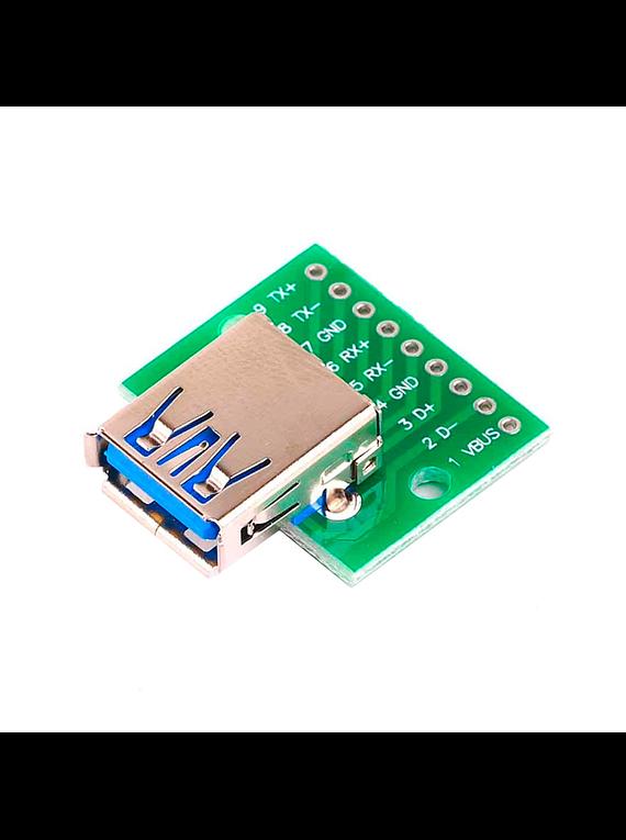 ADAPTADOR DE USB 3.0 A DIP9