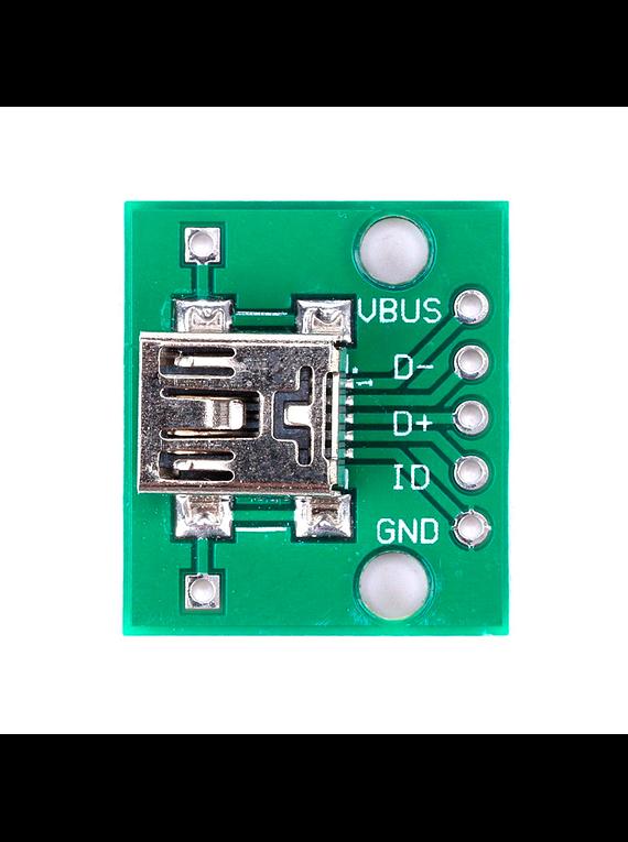 ADAPTADOR DE MINI USB A DIP5