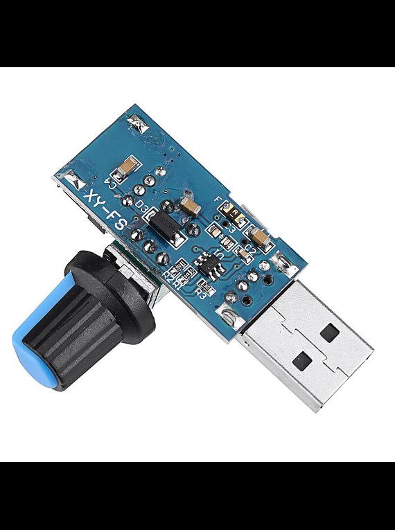 CONTROLADOR DE VELOCIDAD USB