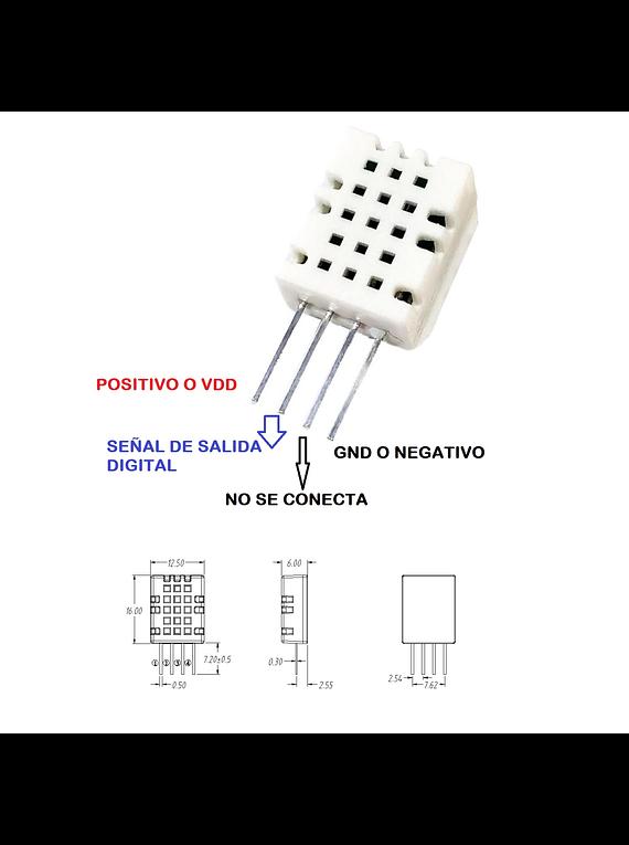 SHTC3 MÓDULO DE SENSOR DE TEMPERATURA Y HUMEDAD DIGITAL