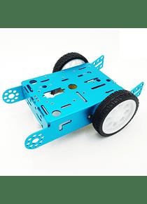 CARRO ROBOTICO SMART CAR ALUMINIO