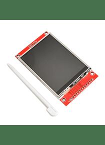 LCD TFT TACTIL 2.8 PULGADAS 240X320 ILI9341