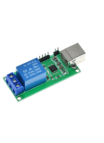 MODULO RELE 1 CANAL PROGRAMABLE USB DOMOTICA