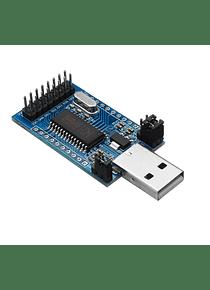 PROGRAMADOR CH341A USB A UART/IIC/SPI/TTL/ISP