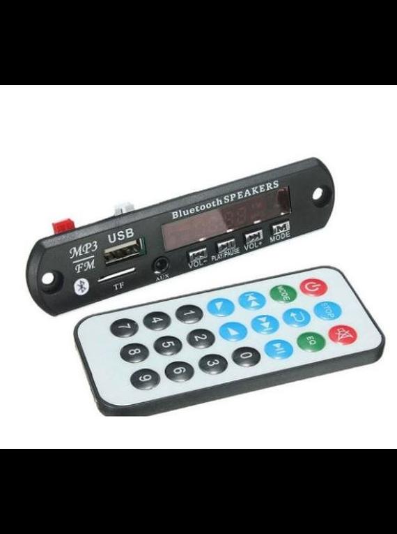 REPRODUCTOR MP3 RADIO MICRO SD USB M011 CON BLUETOOTH