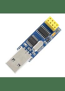 ADAPTADOR TRASNCEPTOR NRF24L01 A USB CH341