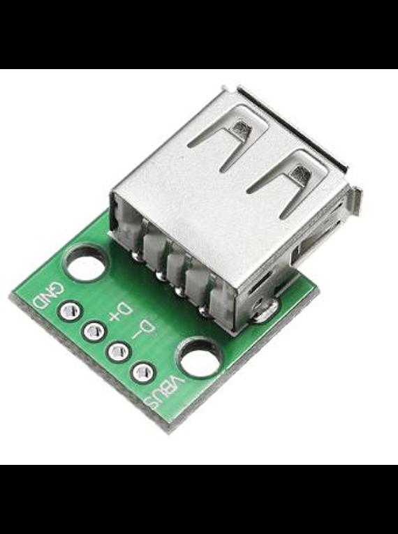 ADAPTADOR USB HEMBRA A DIP 4