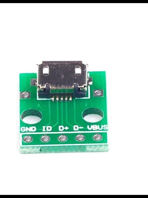 CONVERTIDOR DE MICRO USB A PINES