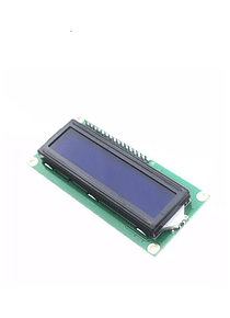 LCD 1602 16x2 BACK LIGHT AZUL CON CONVERSOR I2C