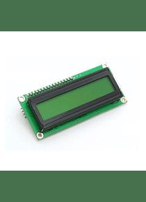 LCD 16X2 1602 VERDE CON CONVERSOR I2C