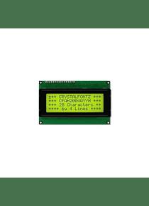 LCD 2004 20x4 BACK LIGHT VERDE