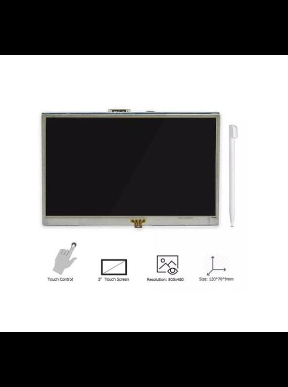 LCD TFT 5 PULGADAS HDMI RASPBERRY PI