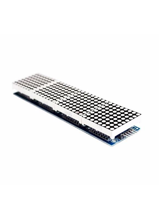 MODULO MATRIZ LED MAX7219 X4