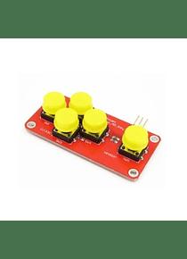 MODULO CONTROL 5 BOTONES Arduino